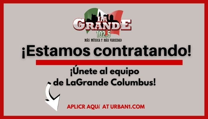 LaGrande Columbus Hiring Graphic (generic)