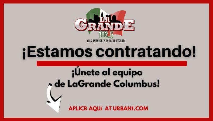 LaGrande Columbus Hiring Graphic (generic)