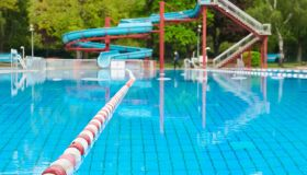 Press conference on the opening of the Berlin summer pools