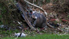 Royal Navy Plane Crashes In Cornwall