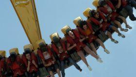 The Delirium, a ride at Cincinnati, Ohio's King's Island the