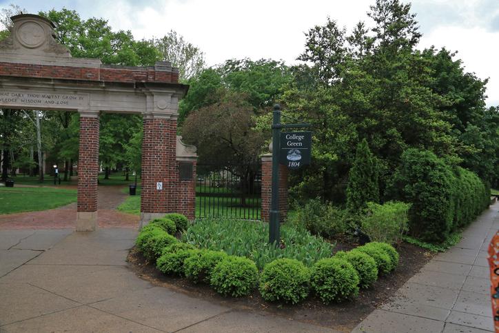 Alumni Gateway Park, Ohio University, Athens, Ohio, USA